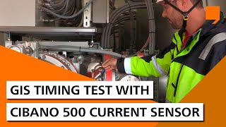 GIS Timing Test with CIBANO 500 Current Sensor