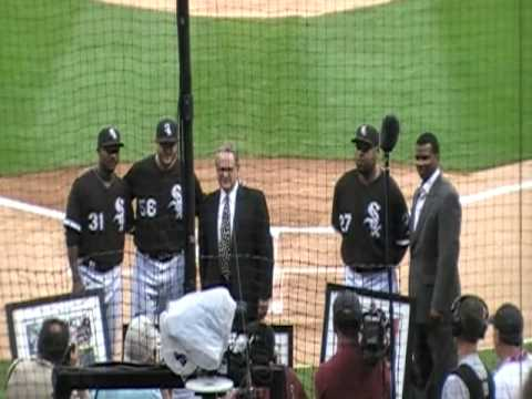 White Sox ceremony for Mark Buehrle's perfect game