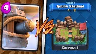 Flying machine trolling arena 1 in clash royale | troll deck