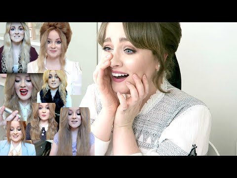 REACTING TO MY OLD VIDEOS! OMG LOL WHAT WAS I THINKING | Becca Rose