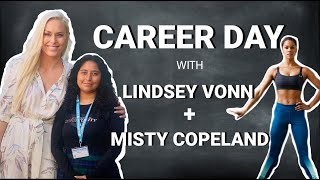 Lindsey Vonn's Virtual Career Day with Ballet Dancer Misty Copeland