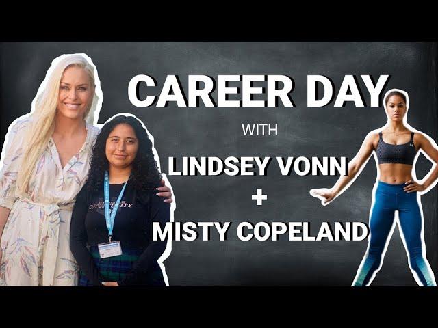 Lindsey Vonn's Virtual Career Day with Ballet Dancer Misty Copeland