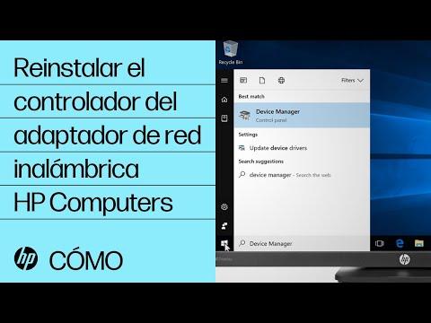 Reinstalar el controlador del adaptador de red inalámbrica | HP Computers | HP