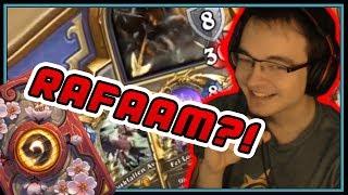 I got to play Arch-villain Rafaam.. AS REXXAR | Midrange Hunter | Rise of Shadows | Hearthstone