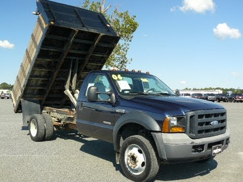 F450 Dump Truck For Sale >> Used F450 Maryland Dump Truck Diesel V8 Automatic Landscape Dump Body Commercial Truck