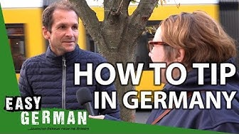 How to tip in Germany | Easy German 268