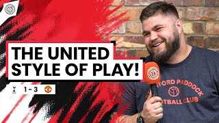 THAT Is The United Style Of Play! | Howson Fancam | Spurs 1-3  Man United