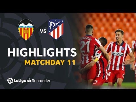 Valencia Atletico Madrid Goals And Highlights