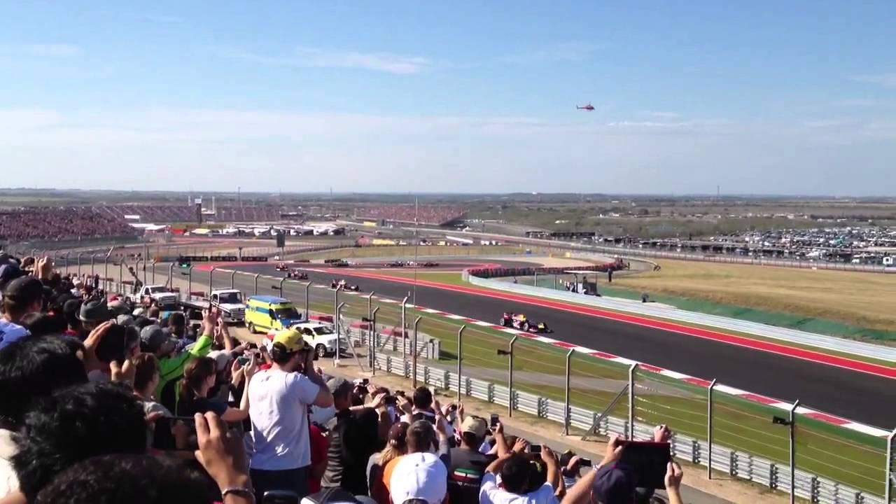 F1 Austin Texas 2012 Turn 9 Hd Youtube