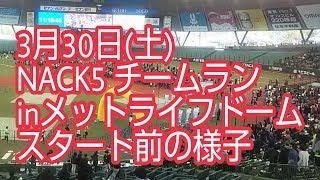 2019年3月30日(土) エイブルpresents NACK5チームランinメットライフド...