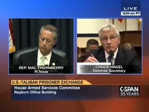 Mac questions Secretary Hagel about Bergdahl/Terrorist Trade