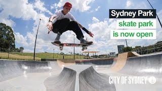 Sydney Park skate park is now open!
