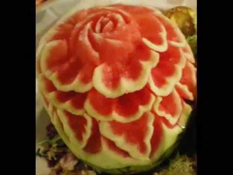 Decoraciones con frutas y verduras youtube - Decoracion de frutas ...