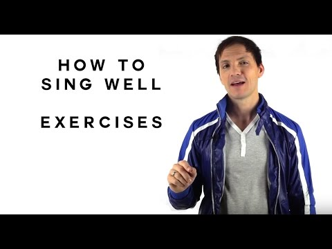 how to sing well exercises youtube. Black Bedroom Furniture Sets. Home Design Ideas