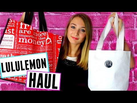 HUGE LULULEMON HAUL | Warehouse Sale 2015!