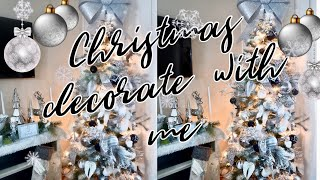 CHRISTMAS DECORATE WITH ME 2018{GABRIELLAGLAMOUR}