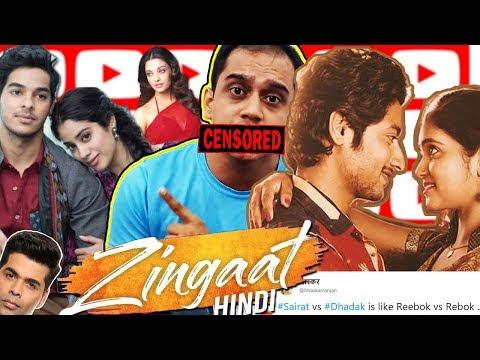 Zingaat Hindi (Dhadak) VS Zingat (Sairat) And Aishwarya's daughter can be PM