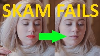 skam even more fails part 3 lipstick new iphone