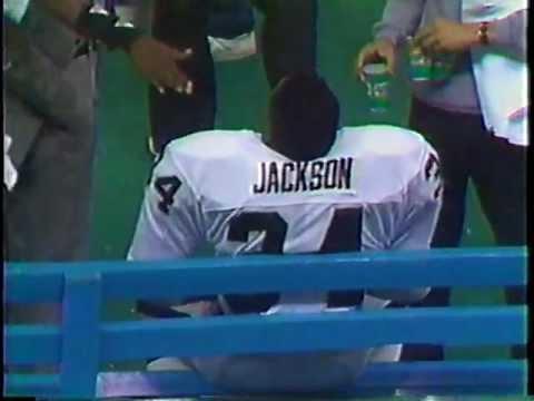 BO JACKSON 91 YARD RUN VS. SEAHAWKS - NOVEMBER 30, 1987