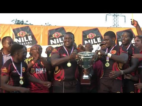 Africa Cup rugby action - Uganda promoted to Division 1A