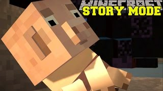 Minecraft: STORY MODE - SADDEST MOMENT IN VIDEO GAME HISTORY! [Episode 4][4]