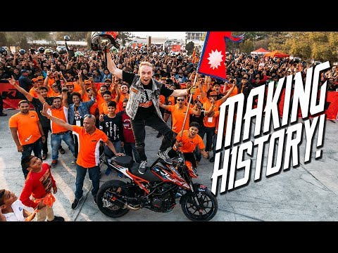 MAKING HISTORY IN NEPAL | RokON VLOG #52