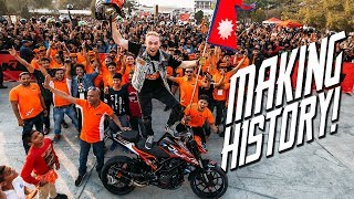 MAKING HISTORY IN NEPAL | RokON VLOG #52