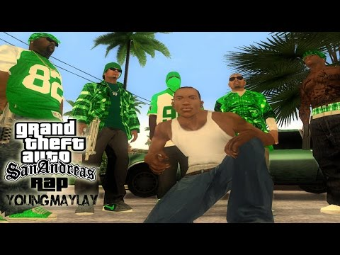 GTA San Andreas Rap CJ Rap MV