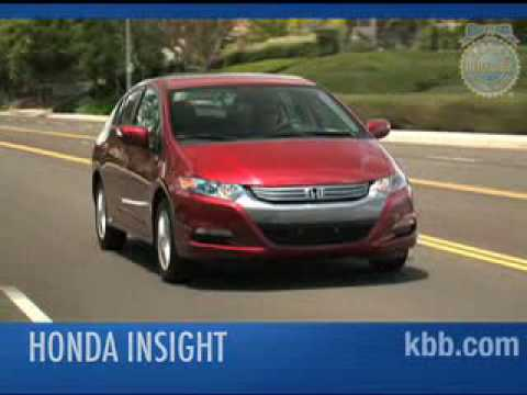 2010 Honda Insight Review   Kelley Blue Book