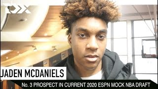 Jaden McDaniels - Potential 2020 Top-5 NBA Draft Pick - at the Big Apple Showcase