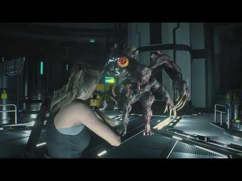 Третий босс в Resident Evil 2 Remake прохождение на скорость
