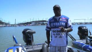 Ish Monroe Talks Yamaha at the 2011 BoatU.S. Collegiate Bass Fishing Championship