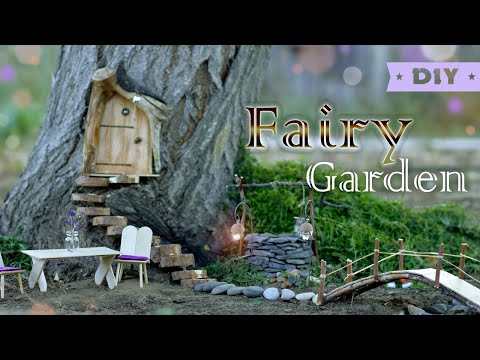 DIY Fairy Garden | How To Make Fairy Garden