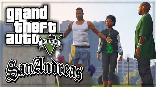 One of iCrazyTeddy's most viewed videos: GTA 5: San Andreas Intro Remade Grove Street 4 Life! (GTA V Gameplay Machinima)