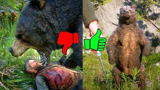 Red Dead Redemption 2 Funny Fails & Passes Man vs Legendary Bear