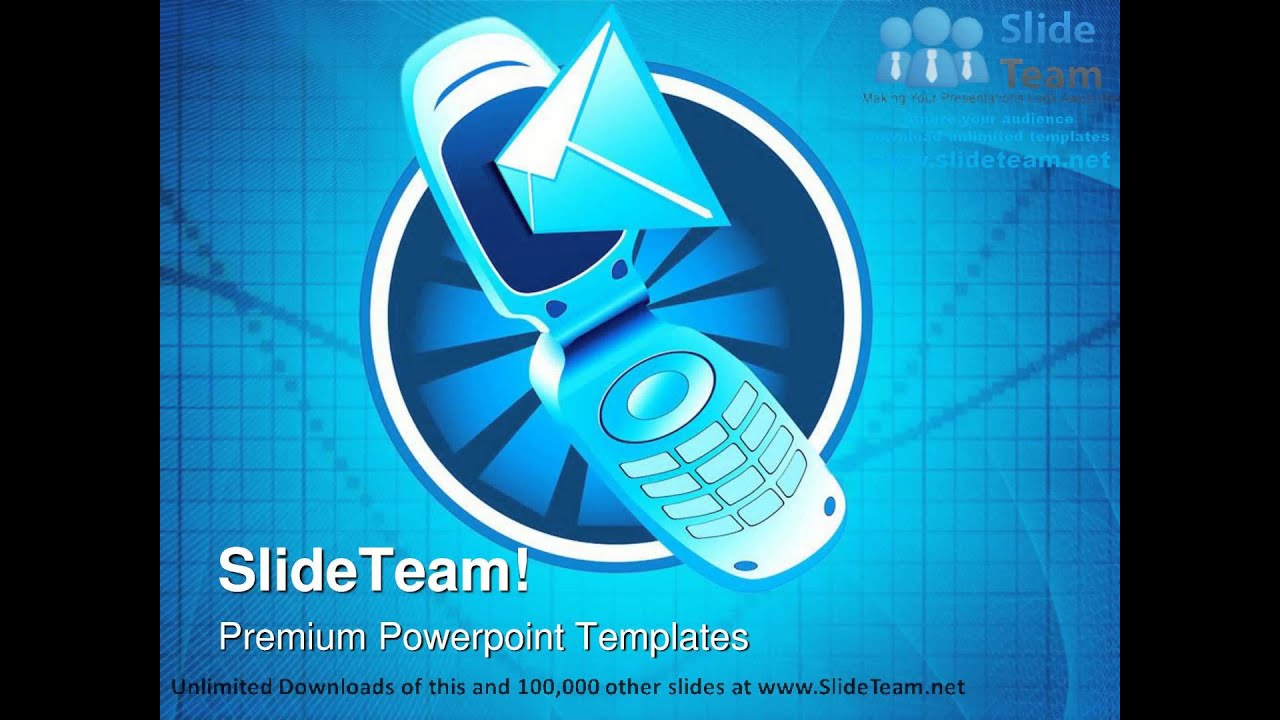 mobile phone technology powerpoint templates themes and
