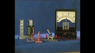 Опыты по физике. Энергия магнитного поля катушки
