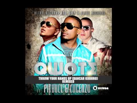 Qwote Ft. Pitbull & Lucenzo - Throw Your Hands Up (R3hab's Dayglow Remix) (Cover Art)
