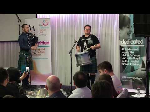 Steven McWhirter - Children's Cancer Charity Concert 2018 - Sandy's New Chanter & Mason's Apron
