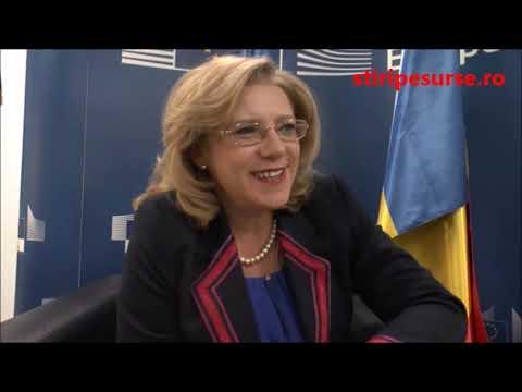 STIRIPESURSE.RO - Interviu Corina Creţu, comisar european