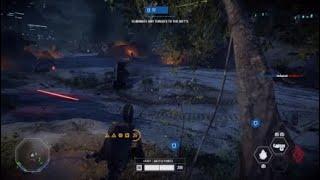 Star Wars Battlefront II Squad part 2 gameplay