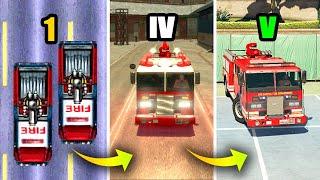 EVOLUTION of FIRE TRUCK in GTA GAMES 1997-2019