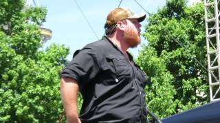 Luke Combs CMA Fest 2016 Debut - Don't Tempt Me With A Good Time