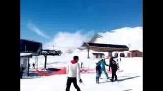 julia first step in ski