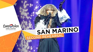 Senhit - Adrenalina - Second Rehearsal - San Marino 🇸🇲 - Eurovision 2021