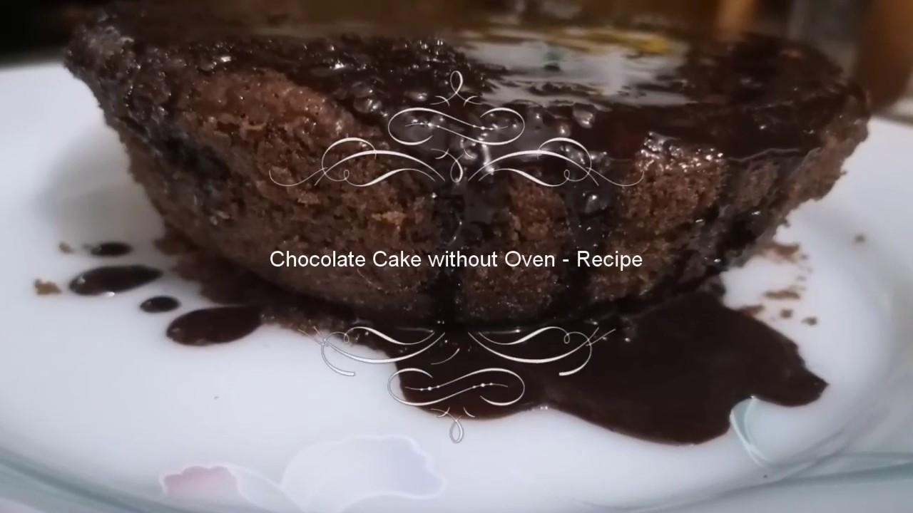 Chocolate Cake without Oven - Recipe - YouTube