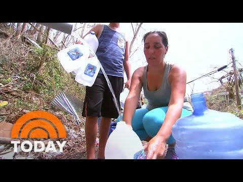 Drinking Water Crisis Grips Puerto Rico In Wake Of Hurricane Maria | TODAY