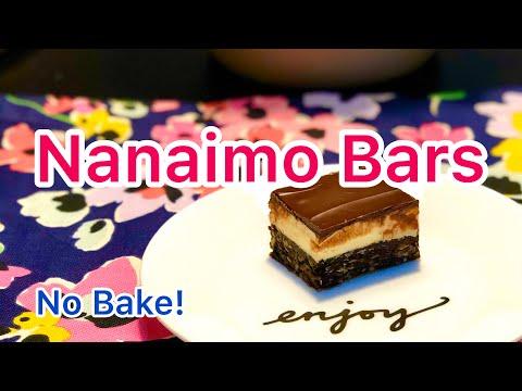 how-to-make-nanaimo-bars- -no-bake-dessert