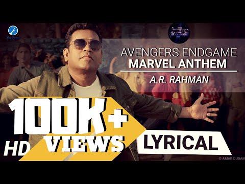 Marvel Anthem Lyrics Hindi | A.R. Rahman | Avengers Endgame