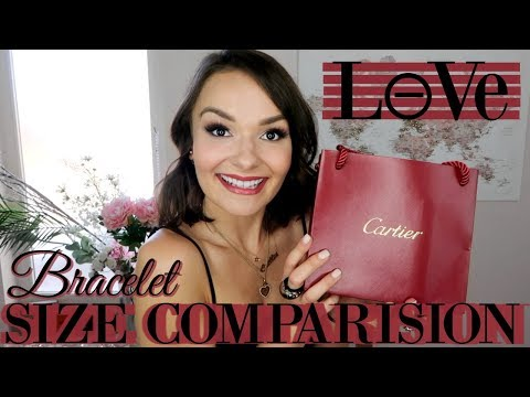 CARTIER LOVE BRACELET SMALL vs REGULAR SIZE || WHICH IS BEST?